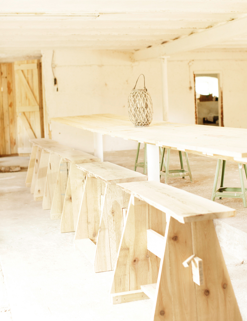 Scheune Tisch